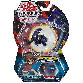 Bakugan Ultra 1 Pack 3 palcový obrázok Darkus Trunkanious