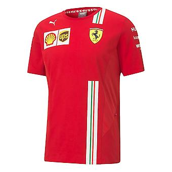 2020 Ferrari Puma Team Tee (Red)