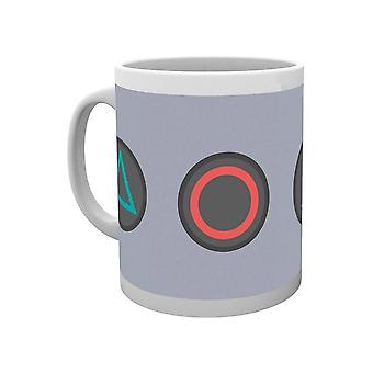 PlayStation, Mug - Buttons