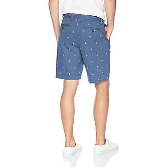 "Essentials Men-apos;s Classic-Fit 9"" Short, Navy Anchor, 31, Blue, Taille 31"