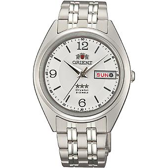Orient 3 Star Watch FAB0000EW9 - Stainless Steel Unisex Automatic Analogue