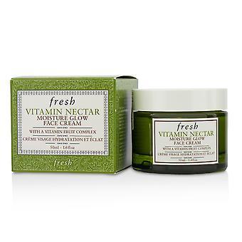 Crema facial con brillo de humedad del néctar vitamínico 214961 50ml/1.6oz
