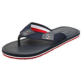 Tommy Hilfiger Elevated Mens Beach Sandals in Desert Sky