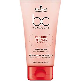 Schwarzkopf BC Bonacure Peptide Repair Rescue Sealed Ends Hair Serum 75ml