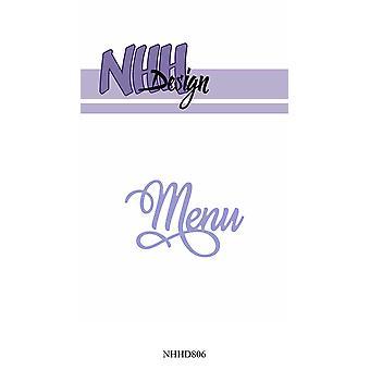 NHH Design Menu Dies