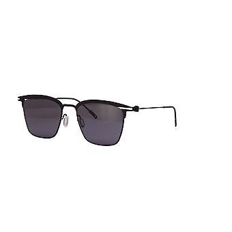 Montblanc MB0080S 006 Black/Grey Sunglasses