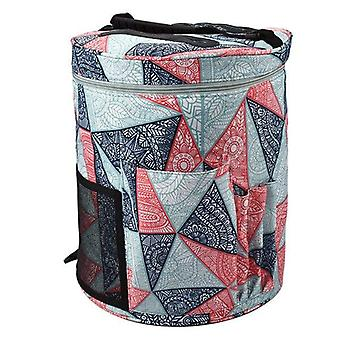 Large Yarn Knitting Tote Storage Bag For Crochet Hooks And Knitting Needles