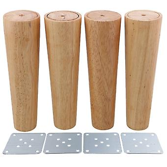 4pcs Wood Furniture Foot Leg Feet 20*6*4cm