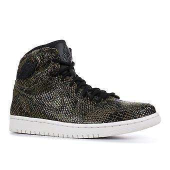 Air Jordan 1 Ret Hi 'Snakeskin' Womens -Ah7389-302 - Sapatos