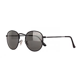 Solbriller Unisex Cat.3 svart røyk/svart (AMU19201 D)