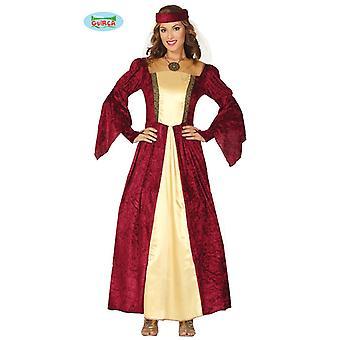 Keskiaikainen dress naisten puku aatelisnainen Prinsessa Prinsessa puku