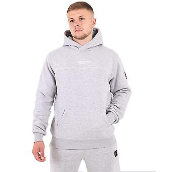 Marshall Artist Siren Over The Head Hoodie - Grey Marl
