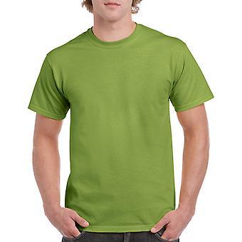 Gildan G5000 Plain Heavy Cotton T Shirt in Kiwi