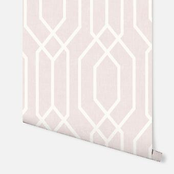 908208 - Nova York Geo Pink - Arthouse Wallpaper