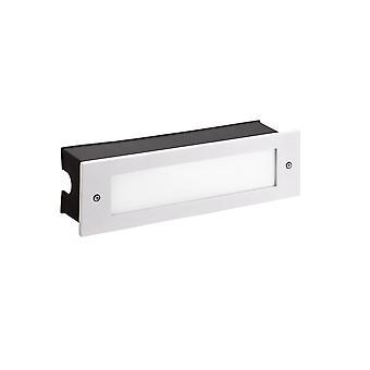 Leds-C4 Micenas - Extérieur LED Encastré Mur Blanc clair 29.8cm 1215lm 4000K IP65