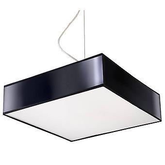 Sollux HORUS - 2 Lichte Plafondhanger Zwart, E27