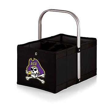 Urban Basket - Black (East Carolina  Pirates) Digital Print