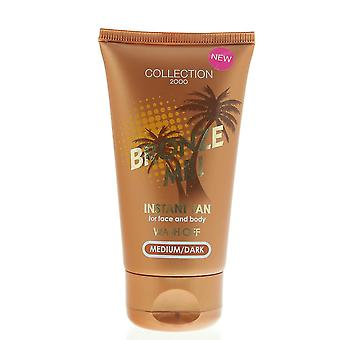 Collection 2000 Bronze Me! Wash Off Instant Tan Face And Body Medium/Dark 60ml