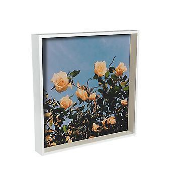 Cornice fotografica Scatola primavera Nicola - 16 x 16 Cornice acrilica quadrata - Bianco