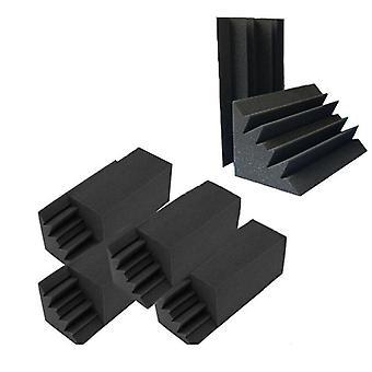 Uusi 8 pakkausta 4,6 X 4.6 X 9.5 musta äänieristys basso ansa