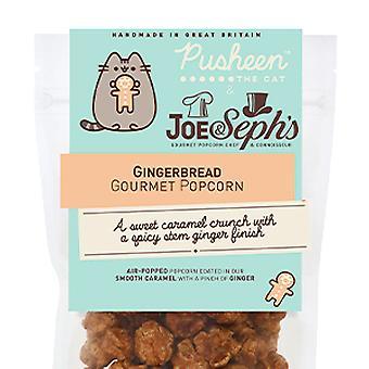 Pusheen Gingerbread Popcorn