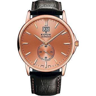 Edox Watches Les Bémonts Men's Watch Big Date 64012 37R ROIR