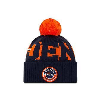 New Era Nfl Denver Broncos Official 2020 Sideline Home Sport Beanie Knit