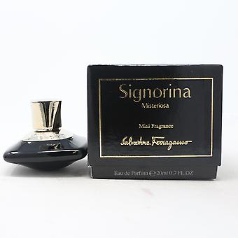 Signorina Misteriosa Mini by Salvatore Ferragamo Eau De Parfum 0.7oz Spray New