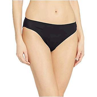 Essentials Women's Classic Bikini Swimsuit Bottom, Black, L