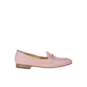 Viola Ricci Ezgl436001 Women's Pink Leather Loafers