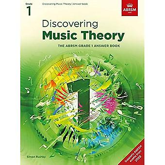 Discovering Music Theory, The ABRSM Grade 1 Answer Book (Theory workbooks (ABRSM))
