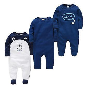 Νεογέννητες πιτζάμες μωρών - βρεφικό πλήρες μανίκι μωρό στρωτήρες