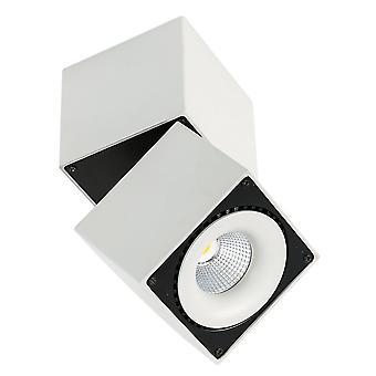 Modern Technisch LED-oppervlak gemonteerd wit, zwart, warm wit 3000K 2350lm