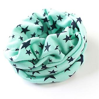 Stars Print Ring Scarves For Autumn/winter Handkerchief Hat Mask