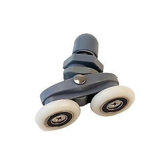 Double Wheel Shower Rooms Sliding Rollers, Cabins Runners Pulleys