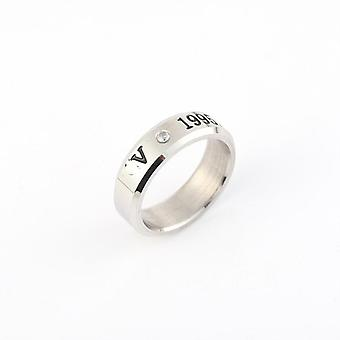 Boys Titanium Steel Rings Set