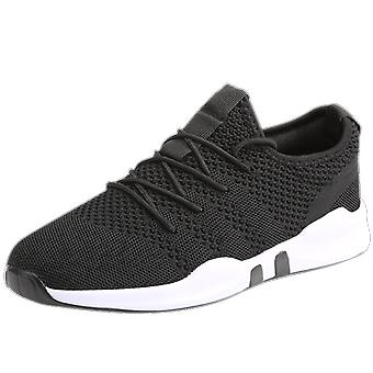Zomer Casual ademende mesh schoenen mannen sneakers Lace Up