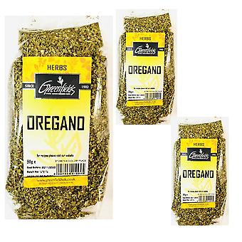 3 x 75g Packet Dried Oregano Flakes Suitable for Cooking
