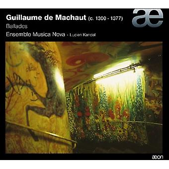 G. de Machaut - Guillaume De Machaut: Ballader [CD] USA import