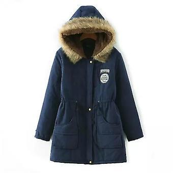 Winter Women Parka Casual Outwear Military Hooded Coat Jackets