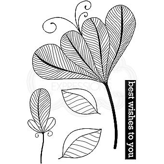 Woodware Clear Stamps - Bold Blooms Vivian