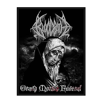 Bloodbath Patch Grand Morbid Funeral Band Logo new Official Black