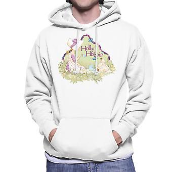 Holly Hobbie Tea Party Men's Hooded Sweatshirt