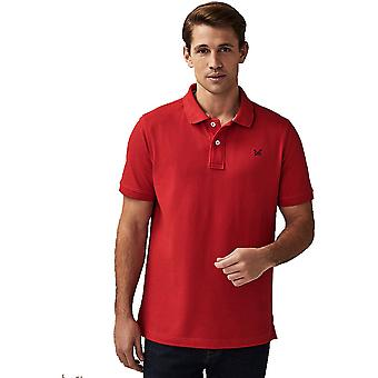 Crew Clothing Mens Classic Fit Pique Cotton Polo Shirt