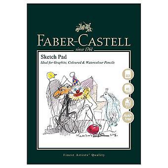 Faber-castell konst & grafisk skiss pad, a3 160 gsm pad av 40 ark a&g skiss pad
