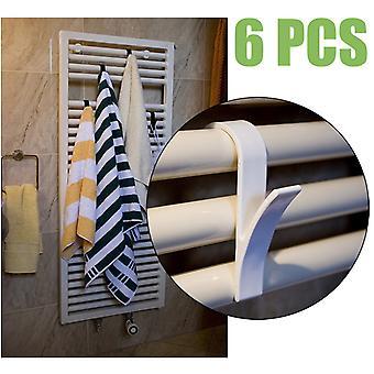 Cintre blanc Foulard Hanger Bath Hook Holder Clothes Hanger