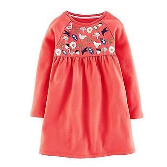 שרוול ארוך הנסיכה טוניקה ג'רזי להתלבש, יער עיצוב, תינוק