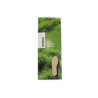 "Solos ""Exquisit"" Leather odour stopper replacement insoles Shoes Boots"