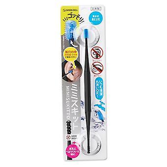Siliconen Earpick, Veiligheid Double-head Ear Wax Curette Cleaning Spoon