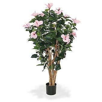 Ibisco Artificiale Deluxe 100 cm rosa
